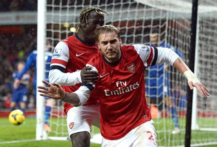Bendtner gol Arsenal (Foto: Reuters)
