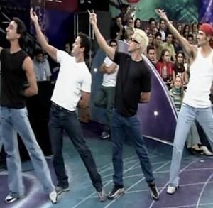 Malvino Salvador novinho em 'Blue Jeans' (Foto: TV Globo)