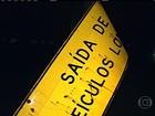 Estradas brasileiras têm placas em péssimo estado de conservação