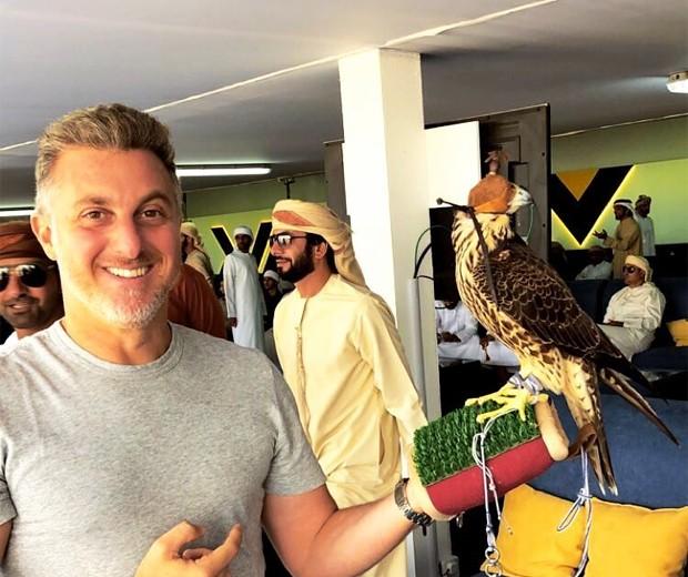 Luciano Huck em Dubai (Foto: Reprodução/Instagram)