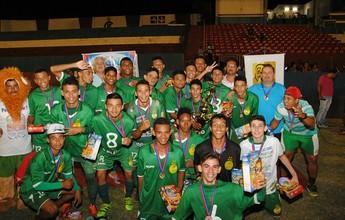 Gurupi é bicampeão de futebol de base em copa internacional em GO