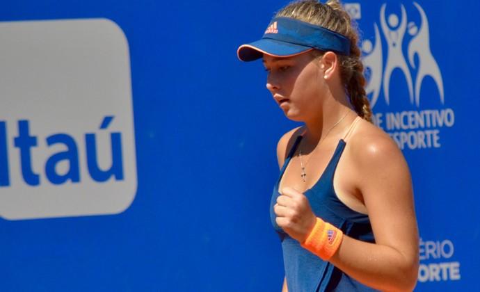 Zoe Kruger tenista África do Sul (Foto: Éric Visintainer/Divulgação)