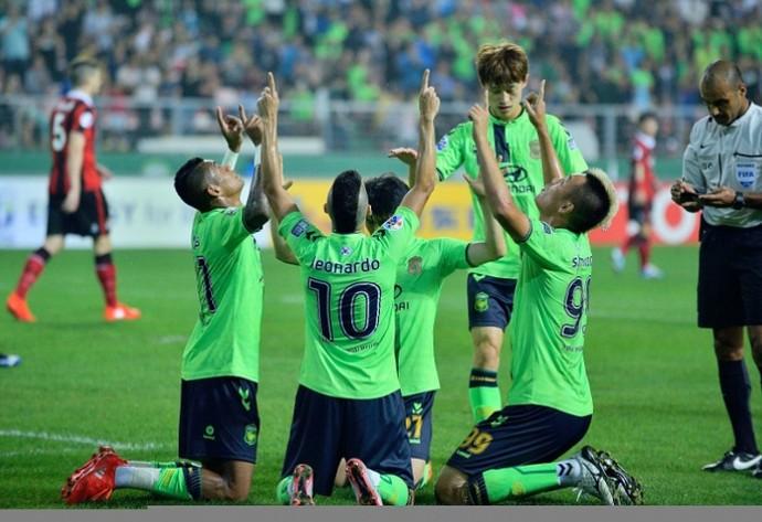 Jeonbuk FC final Liga dos Campeões da Ásia (Foto: Divulgação / AFC)