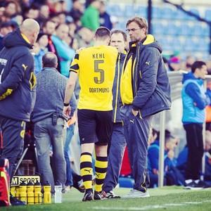 Kehl, Borussia Dortmund x Steaua Bucareste (Foto: Instagram)