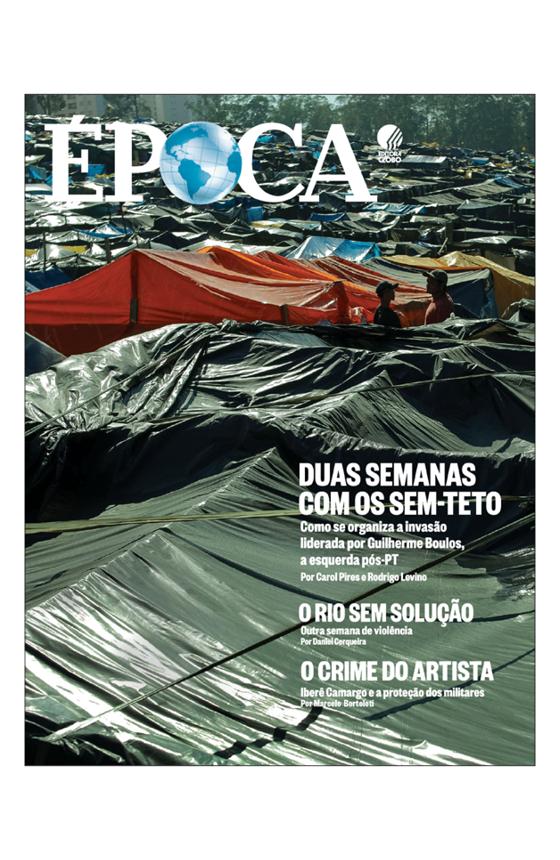 Capa revista Época Edição 1023 (Foto: Época)