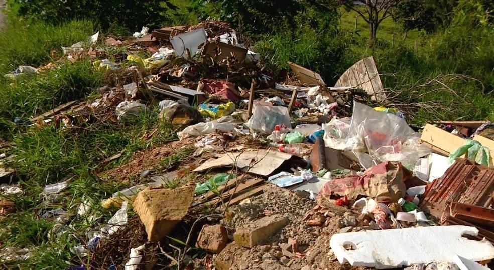 Campinas tem 114 áreas com descarte irregular de lixo, afirma Prefeitura (Foto: Reprodução EPTV)