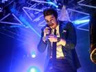 Luan Santana se apresenta no Rio com famosos na plateia