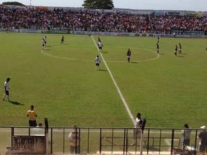 Votuporanguense venceu Juventus em Votuporanga (Foto: Priscila Mota/TV TEM)