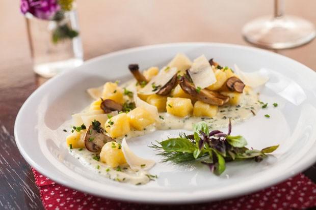Jantar vegetariano (Foto: Tomaz Vello / divulgação)