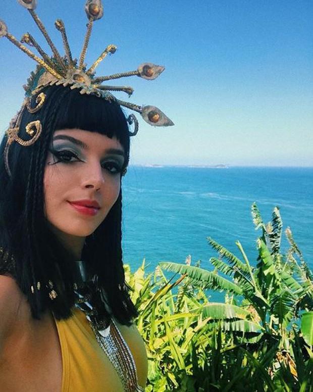 Giovanna Lancellotti caracterizada de Cleópatra (Foto: Reprodução/Instagram)