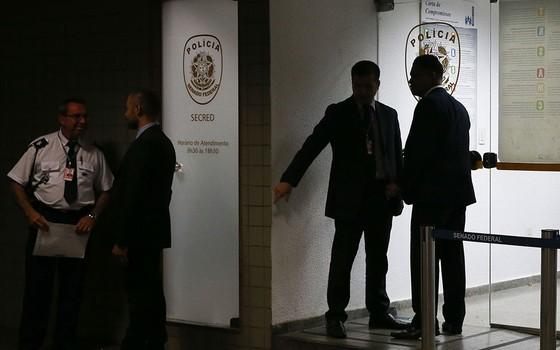 PF prende policiais legislativos durante Operação Métis (Foto: José Cruz/Agência Brasil)