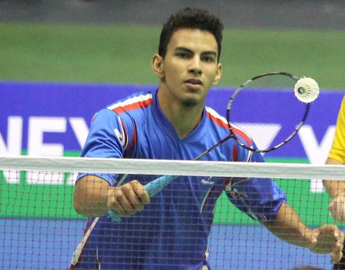 Lucas Alves; badminton; Piauí (Foto: reprodução/Facebook)
