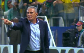 Tite perde a paciência e dá bronca  em Arce após falta em Neymar; veja