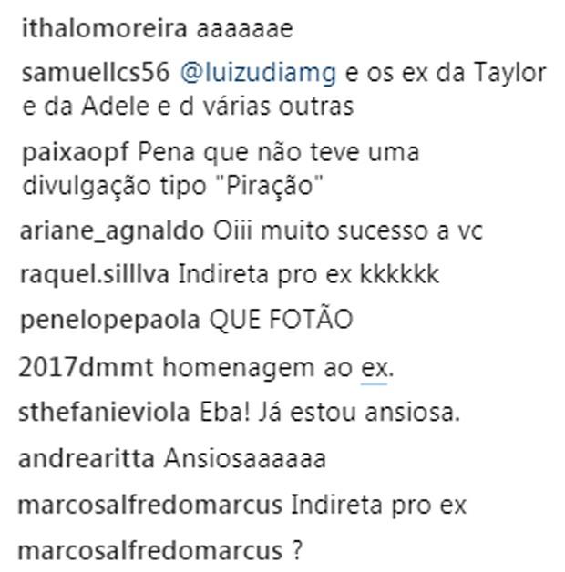 Fãs especulam que single Traidor, de Paula Fernandes, seja indireta ao ex Henrique do Valle (Foto: Reprodução/Instagram)