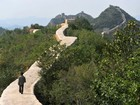 China investiga 'restauração' com cimento da Grande Muralha
