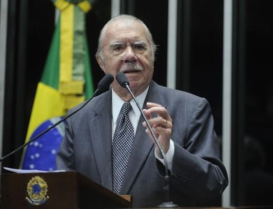 José Sarney (Foto: Moreira Mariz/Agência Senado)