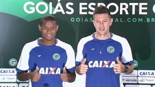 Goiás apresenta dupla para a defesa, setor mais criticado do time em 2016