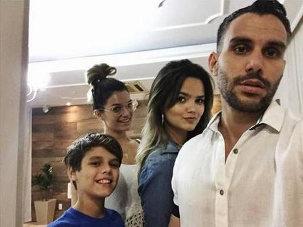 Kelly Key com o marido e os filhos (Foto: Reprodução/Instagram)