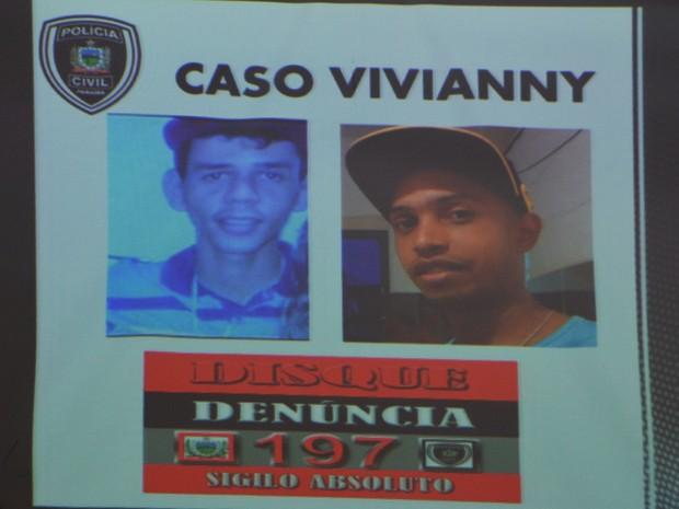 Polícia pede ajuda da população para localizar Jobson Barbosa da Silva Júnior (Juninho) e Fágner das Chagas Silva (Bebé), suspeitos de envolvimento no crime (Foto: Diogo Almeida/G1)