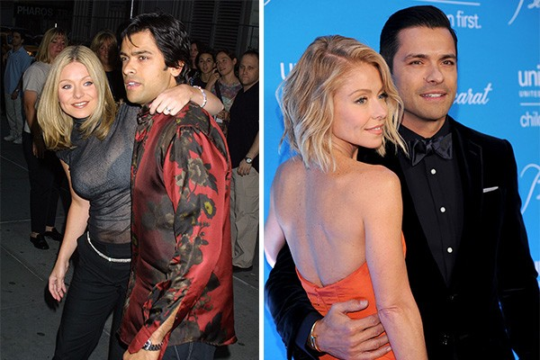 Kelly Ripa e Mark Consuelos (Foto: Getty Images)