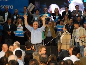 Candidato participa de convenção neste domingo (24) (Foto: Luciano Bergamaschi/Futura Press)