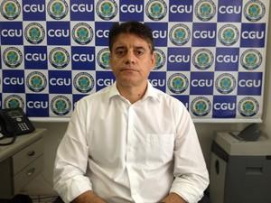 Romel Oscar Tebas, chefe da Controladoria-Geral da União no Amapá (Foto: John Pacheco/G1)