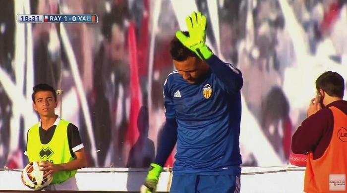 BLOG: Com frango de Diego Alves e polêmica, Valencia empata com o Rayo Vallecano