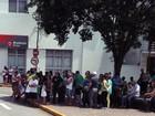Manifestantes protestam contra o governo Dilma no Sul de Minas