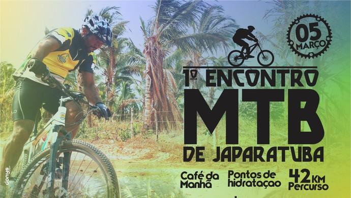 Encontro de Mountain Bike em Japaratuba (Foto: Divulgação/Japaratubike)