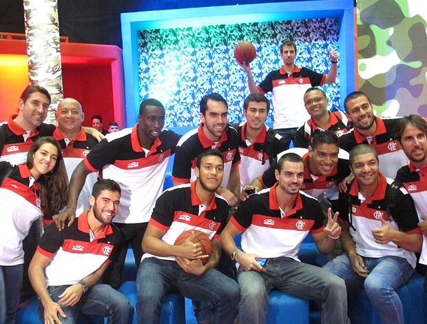 basquete Flamengo programa Esquenta bastidores (Foto: Marcello Pires)