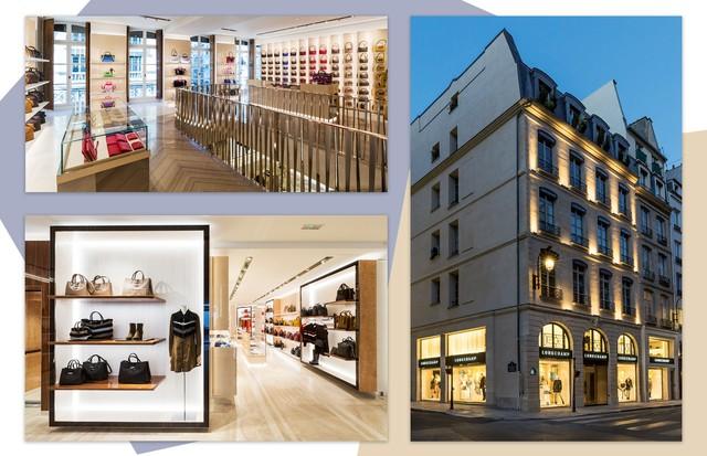 Longchamp na Saint Honoré (Foto: Arte Vogue Online)