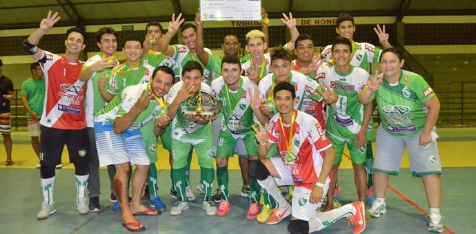Taça Cidade de Boa de Futsal (Foto: Nailson Wapichana)