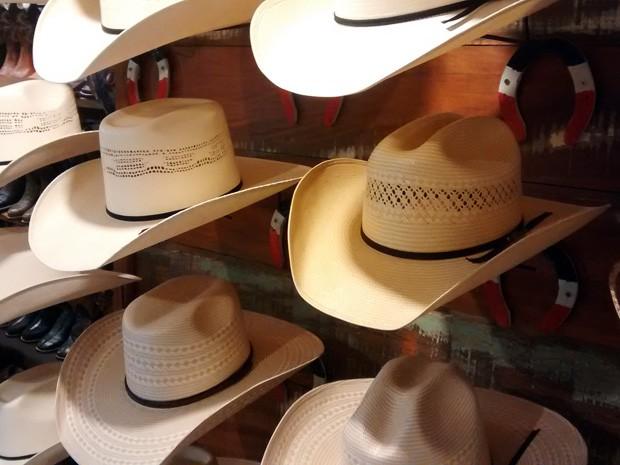 Homens também optam por chapéus mais tradicionais (Foto  Vinícius  Pacheco G1) 847dfabf973