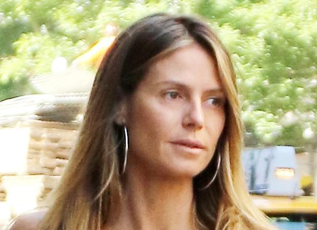 Heidi Klum sem maquiagem (Foto: AKM-GSI)