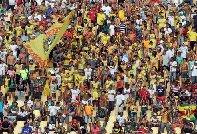 Sampaio Corrêa acredita em bom público contra o Santa Cruz, neste sábado (Foto: Biamam Prado / O Estado)