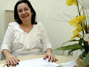 Cláudia Sampaio, pediatra e coordenadora do Centro de Lactação - Banco de Leite de Campinas (Foto: Patrícia Teixeira / G1)