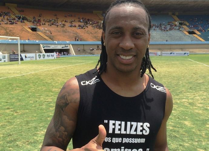 Arouca, volante do Palmeiras (Foto: Guilherme Gonçalves/GloboEsporte.com)