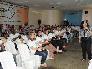 Médicos recebem treinamento em Manaus (Foto: Divulgação/Agecom)