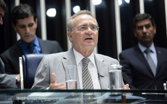 O presidente do Senado, senador Renan Calheiros (PMDB-AL) (Foto: Jefferson Rudy/Agência Senado)