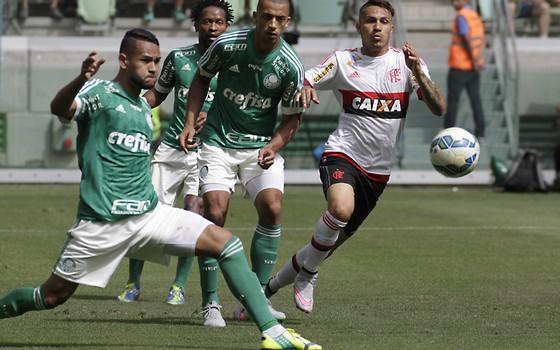Palmeiras x Flamengo pelo Campeonato Brasileiro (Foto: Gilvan de Souza / Flamengo)