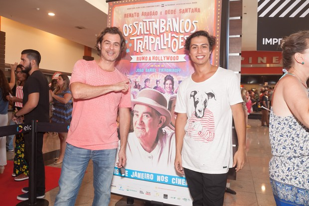 João e Francisco Vitti (Foto: Anderson Barros/EGO)