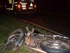 Motociclista morre ao ser atingido por carro em vicinal de Tupã