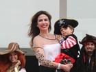 Luciana Gimenez comemora aniversário do filho Lorenzo em SP