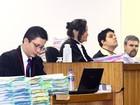 Veja em fotos o  júri popular do ex-policial (Maurício Vieira/G1)