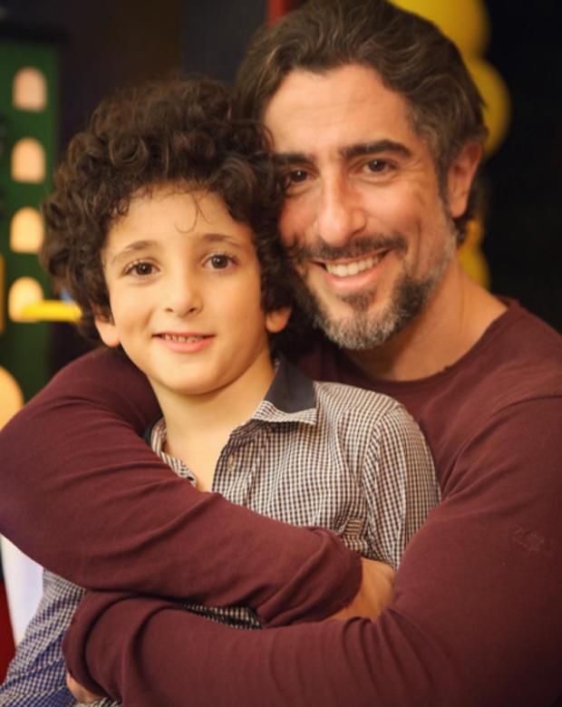 Marcos Mion e Stefano (Foto: Reprodução/Instagram)
