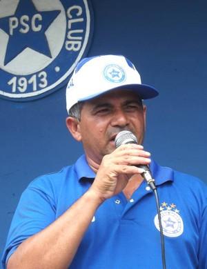 Batista Filho, presidente do Parnahyba (Foto: Renneé Fontenele/portalazulino)