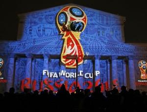 apresentação marca logo copa do mundo 2018 rússia (Foto: Agência Reuters)
