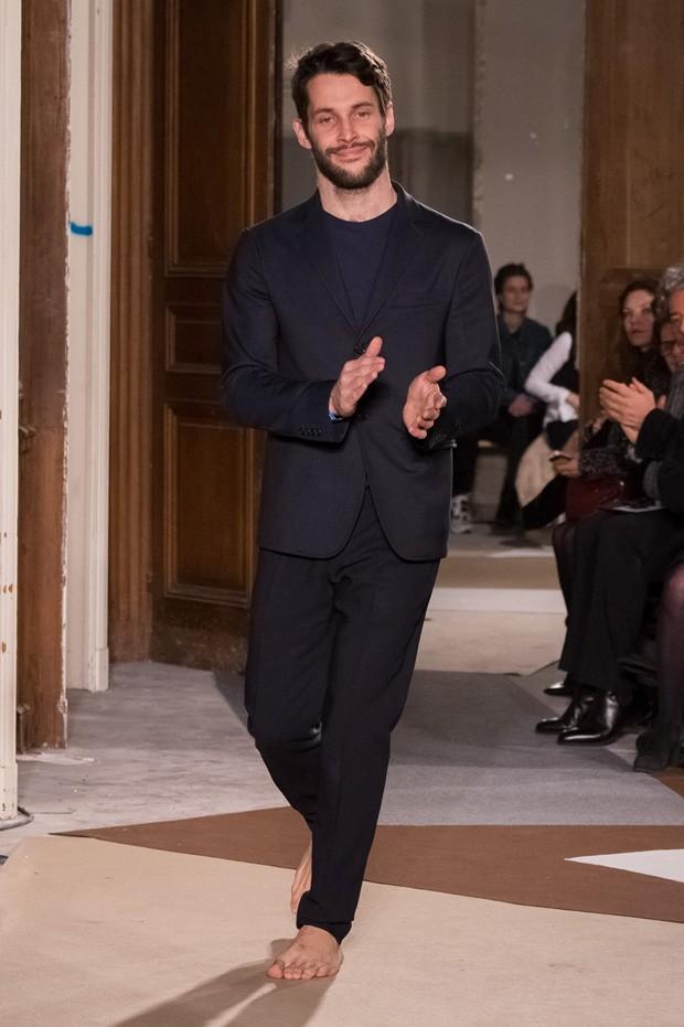 Simon Porte Jacquemus na Paris Fashion Week de 2015 (Foto: Getty Images)