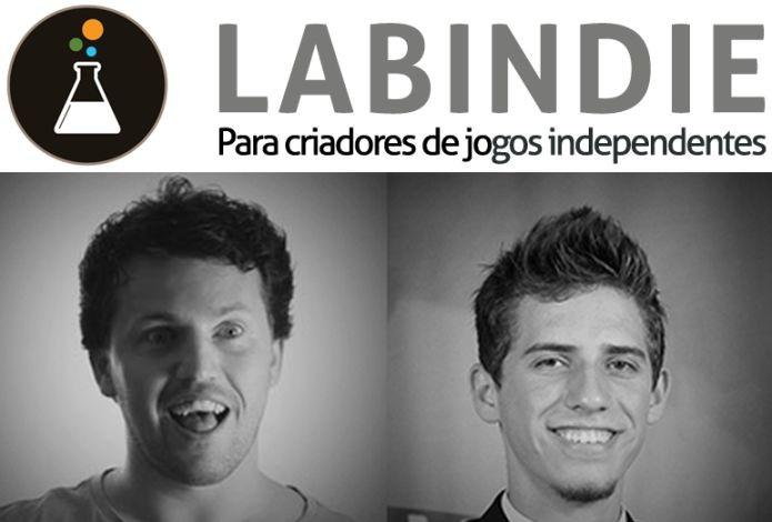 Rodrigo Luiz Genz e Neemias Gabriel Watzko, os criadores do Labindie (Foto: Divulgação)