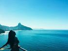 Fernanda Souza posa de biquíni em varanda: 'Por mais segundas assim'